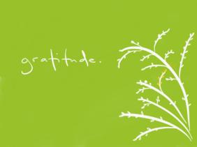 Gratitude sketch card with envelope